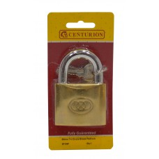 63mm Brass Tri-Circle Padlock