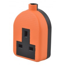 1 Gang Orange Trailing Socket