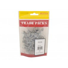 Cable Clip - Flat Cooker T+E Grey - 6mm (40 PK)