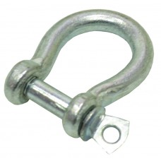 5mm Galvanised Bow Shackle