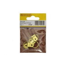 25mm EB Small Picture D Rings (Pack of 4)