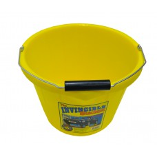 15 Litre Yellow Heavy Duty Builders Bucket