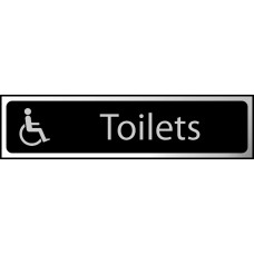 Toilets (disabled logo) - CHR (200 x 50mm)