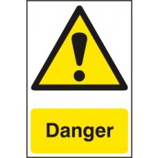 Danger - PVC (200 x 300mm)