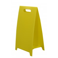 Blank Correx Floor Stand For Signs (Yellow)