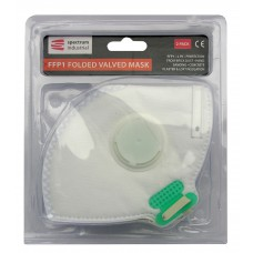 *TEMP OUT OF STOCK* FFP1 Folding Valve Dust Mask 2pk