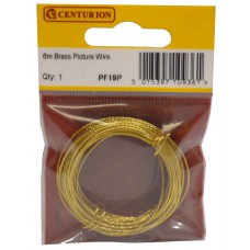 6m Brass Picture Wire