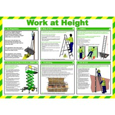 Safety Poster - Work at height