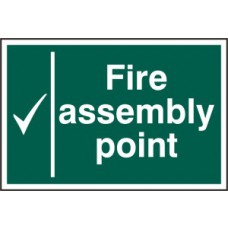 Fire assembly point - PVC (300 x 200mm)