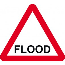 600mm tri. Temporary Sign - FLOOD