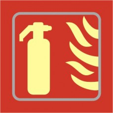 Fire extinguisher graphic - TaktylePh (150 x 150mm)