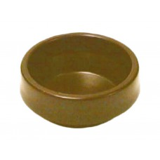 45mm Brown Castor Cups (Pack of 4)
