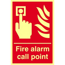 Fire alarm call point - PHS (200 x 300mm)