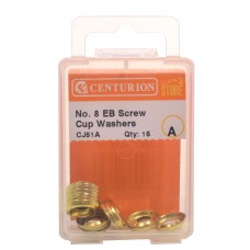 No 8 EB Screw Cup Washers (Pack of 15)