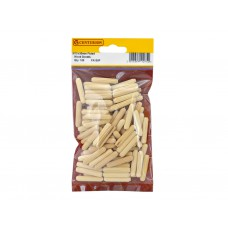 M10 x 40mm Fluted Wooden Dowels  (Pack of 100)