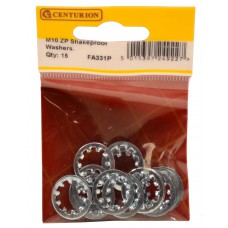 M10 ZP Shakeproof Washer (Pack of 15)