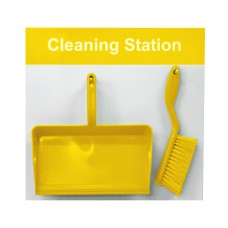 Shadowboard - Cleaning Station Style D (Yellow)