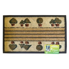 Mats - Assorted Design Dogger Coir/Rubber Mat - 45 x 75cm