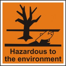 Hazardous to the environment - RPVC (150 x 150mm)