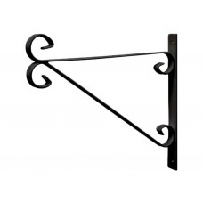"Black Bracket  for 350mm (14"") Hanging Basket"