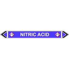 Flow Marker - Nitric Acid (Violet - 5 pack)