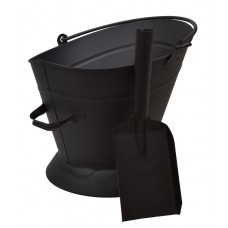 Fireside - Waterloo Bucket and Shovel - Black
