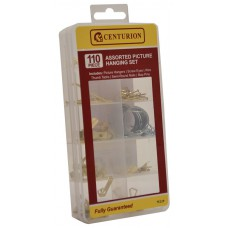 110 Piece Assorted Picture Hanging Set