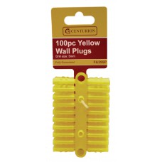 Display Box - Wall Plugs - Yellow -1800 Pieces