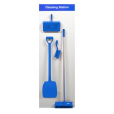 Shadowboard - Cleaning Station Style A (Blue)
