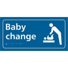 Baby change (with symbol) - Taktyle (300 x 150mm)