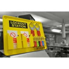 5 Padlock Lockout Station - Premier