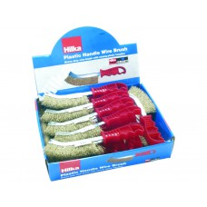 Hilka 24pc Hand Scratch Brush Display Box