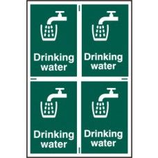Drinking water - PVC (200 x 300mm)