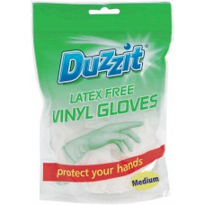 Vinyl Gloves - Medium (18 PK)