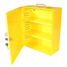 Yellow Lockout Cabinet (HWD: 400 x 360 x 155mm)