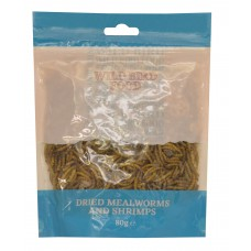 Dried Mealworms - 80g