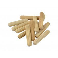 M10 x 40mm Fluted Wooden Dowel