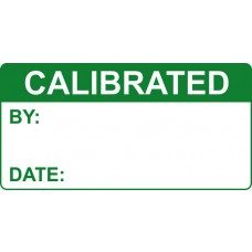 Calibrated - Labels (50 x 25mm Roll of 500)