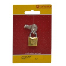 20mm Brass Tri-Circle Padlock