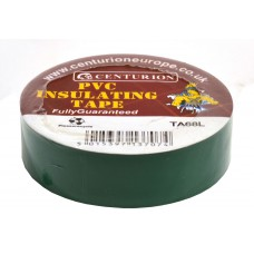 19mm x 20m Green PVC Tape