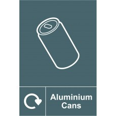 Recycling: Aluminium Cans - RPVC (200 x 300mm)