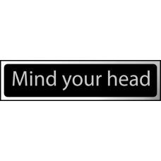 Mind your head - CHR (200 x 50mm)