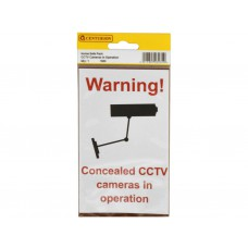 95mm x 150mm Home Safe Pack Cctv (Pack of 2)