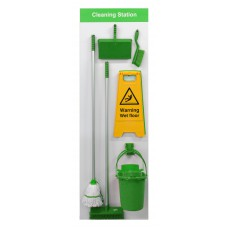 Shadowboard - Cleaning Station Style B (Green)