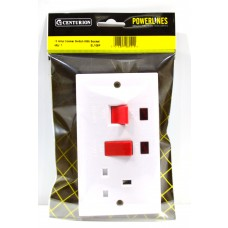 45 Amp Cooker Switch With Socket