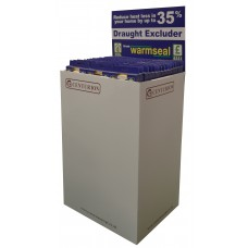 Warmseal 'E' Profile Draught Excluder Dump Bin - 48 pieces