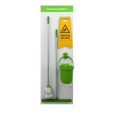 Shadowboard - Cleaning Station Style C (Green)