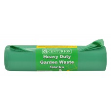 "18"" x 29"" x 39"" 160 Gauge, 100 litre capacity Green Garden Sacks (Pack of 10)"