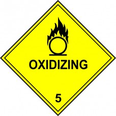 Oxidizing 5 - Labels (250 x 250mm Pack of 10)