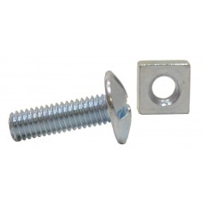 M6 x 20mm ZP Roofing Bolts